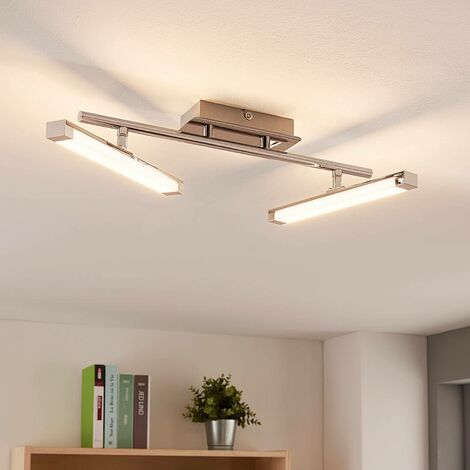 Modern LED ceiling lamp Pilou, three-way dimmable
