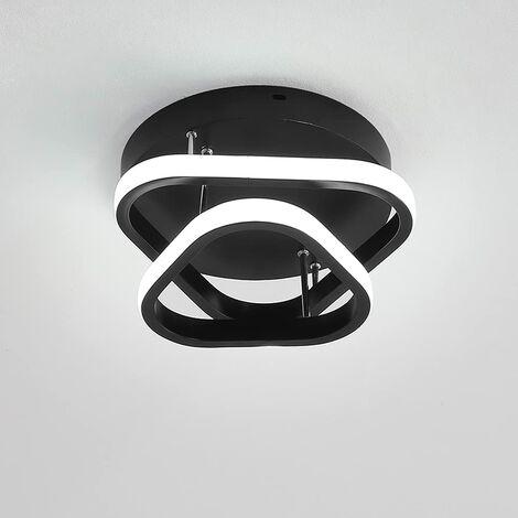 "main image of ""Modern Led Ceiling Light Nordic Style Acrylic Chandelier Creative Design Ceiling Lamp Black for Bedroom, Kitchen, Living Room, Corridor, Restaurant, Balcony, Cold White"""
