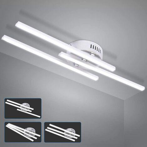 Modern Led Ceiling Light, Recessed Led Ceiling Light With 3 Lights, Modern Ceiling Light For Bedroom Living Room Dining Room Kitchen