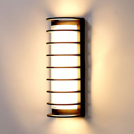 """main image of """"Modern LED wall light, waterproof interior wall lighting IP65 30W 3300LM 3000K warm white luminaire outdoor decoration lamp for garden terrace stairs patio [energy class A +]"""""""