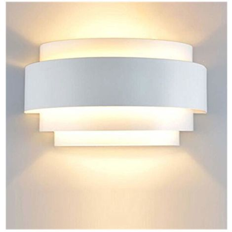 Modern LED Wall Lights up Down Wall Light Sconce Lamp E27 for Living Room Corridor Bedroom Light Dining Room Corridor Stairs Balcony, Warm White