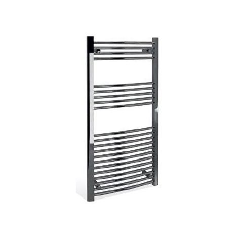 Modern Living Bathrooms - Curved Towel Warmer 500 x 750 x 22mm - Chrome