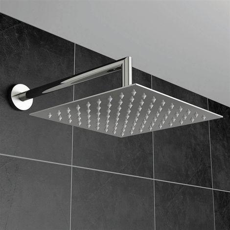 Modern Living Bathrooms - Square Shower Head 400mm