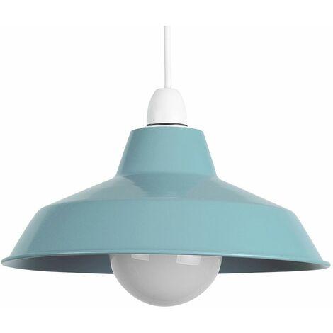 Modern Metal Pendant Shades Ceiling Light Retro Style Lounge Lighting Lampshade