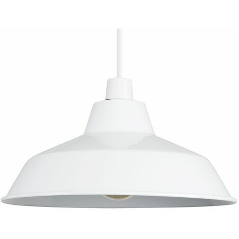 "main image of ""Modern Metal Pendant Shades Ceiling Retro Pendant Lampshade - Cement"""