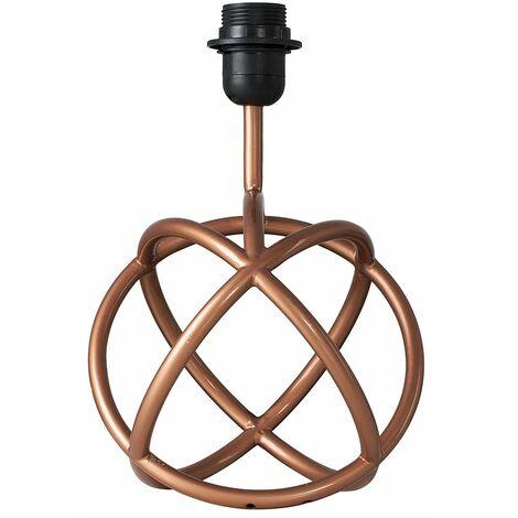 Modern Neutron Copper Table Lamp Base
