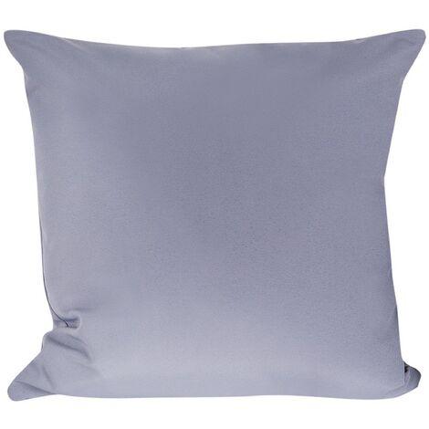 Modern Outdoor Scatter Pillow Grey Polyester Cover Zippered Garden Patio