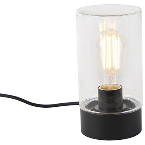 Modern outdoor table lamp black IP44 - Jarra