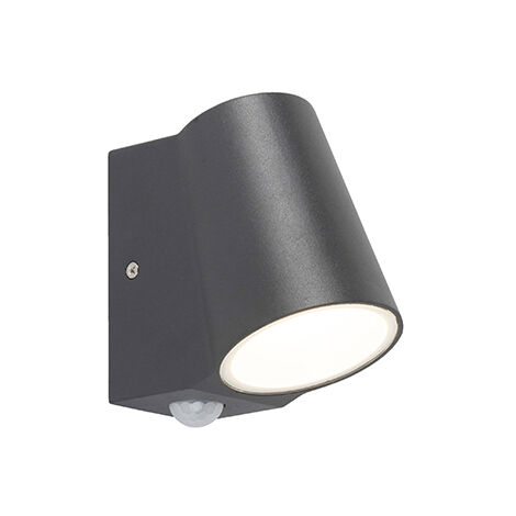 Modern outdoor wall lamp anthracite incl. LED - Uma