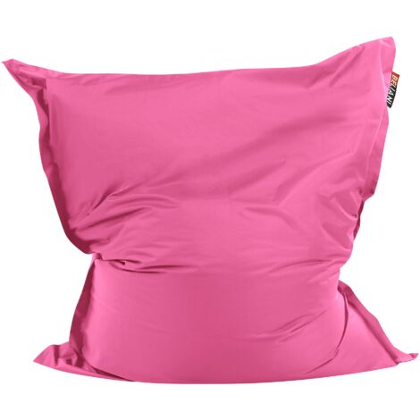 Modern Pink Bean Bag Large Nylon Zipper Living Room Bedroom Garden