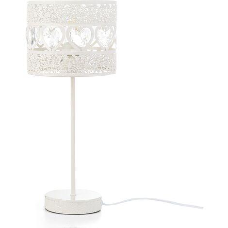 Modern Romantic Table Decorative Light Bedside Lamp Bedroom Creme Namsen