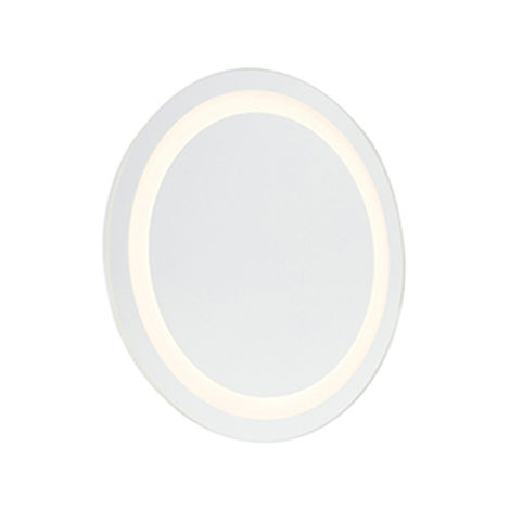 Modern round bathroom mirror incl. LED IP44 - Miral