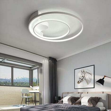 Modern Round LED Chandelier Ceiling Light , 40CM Dimmable