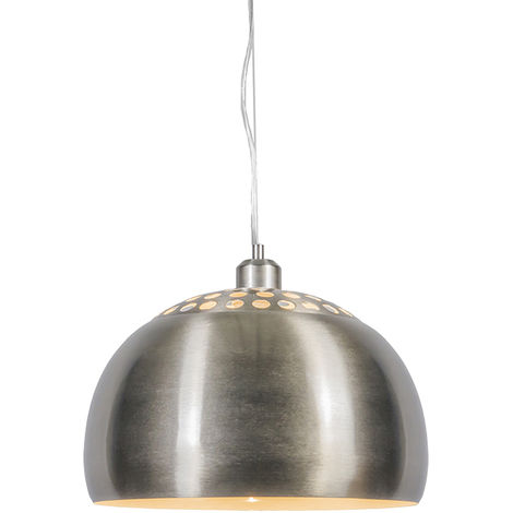 Modern Round Pendant Lamp Steel - Globe