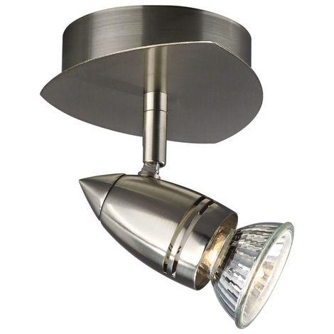 Modern Silver Satin Chrome Kitchen Spot Light Ceiling Wall Light 1 or 2 pack