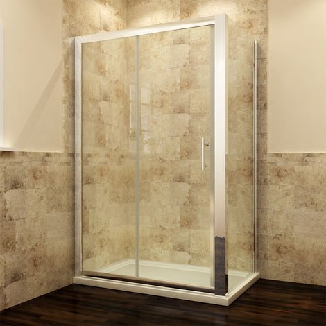 Modern Sliding Shower Cubicle Door Bathroom Shower Enclosure