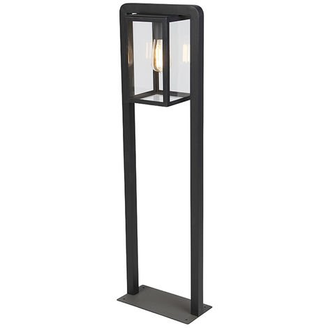 Modern Square Floor Lamp Black - Rotterdam Balanco