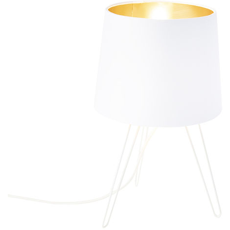 Modern Table Lamp White - Lofty