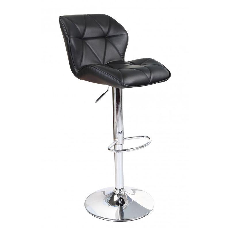 Awesome Modern Uranus Padded Swivel Faux Leather Breakfast Kitchen Bar Stools Pub Barstools Cjindustries Chair Design For Home Cjindustriesco