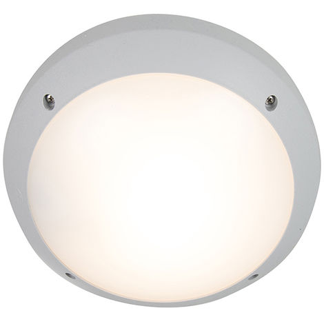 Modern wall and ceiling lamp gray IP65 - Gelmi