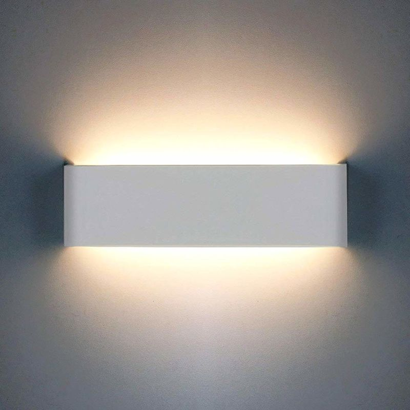 Modern Wall Lamp 12w 1200lm Led Light Up Down Indoor Aluminum Sconce For Living Room Bedroom Bathroom Dining Corridor Stairs Balcony