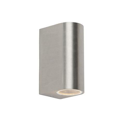 Modern wall lamp aluminum IP44 - Ben 2