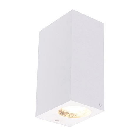 Modern wall lamp black IP44 - Baleno II