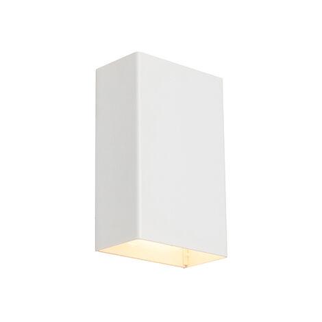 Modern wall lamp white - Otan S