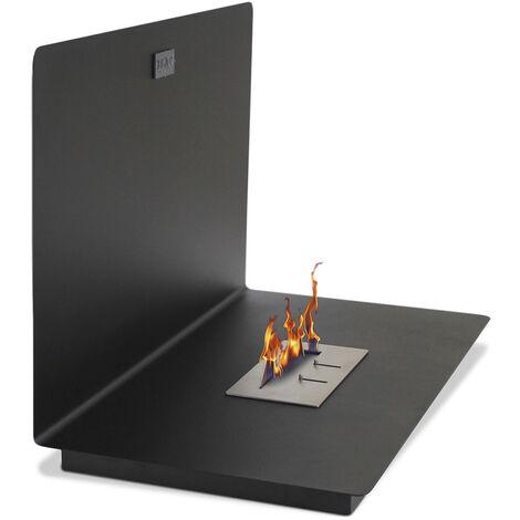 Modern Wall-Mounted Ethanol Fireplace