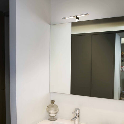 Moderne Badezimmer Wandleuchte Terma in chrom LED EEK A [Spektrum A++ bis E]