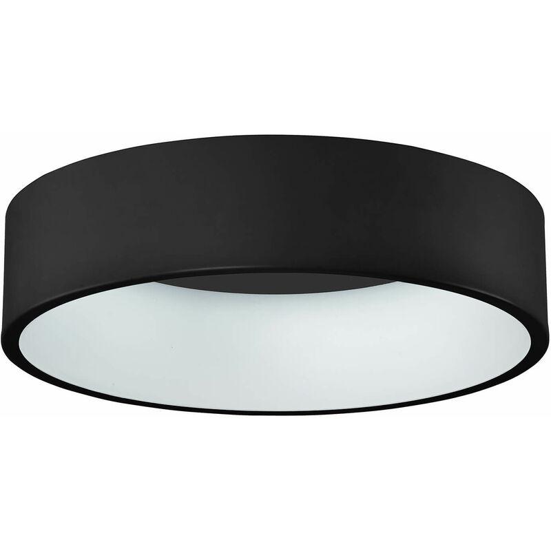 11-italux - Moderne Deckenleuchte Chiara Black