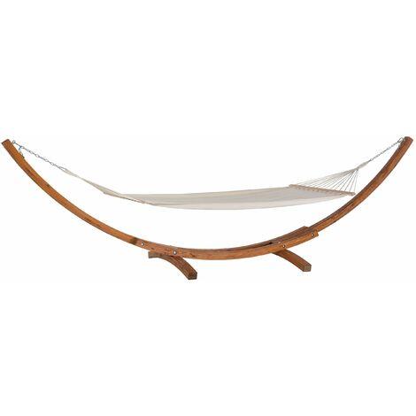 Moderne Hängematte Kahn Form Lärchenholz/Baumwolle Treviso