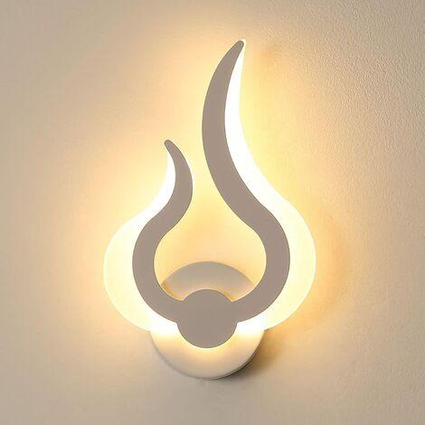 Moderne LED Applique Murale Interieur,Forme de Flamme Applique Murale Lumières pour Cuisine Escalier Chambre Couloir