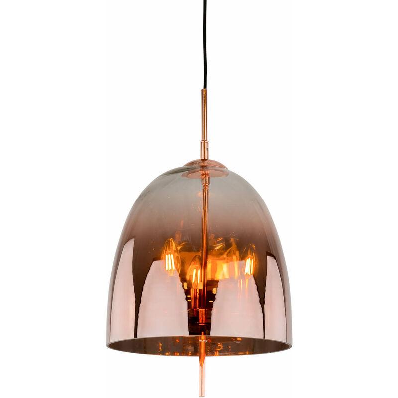 11-italux - Moderne Pendelleuchte Alan Copper