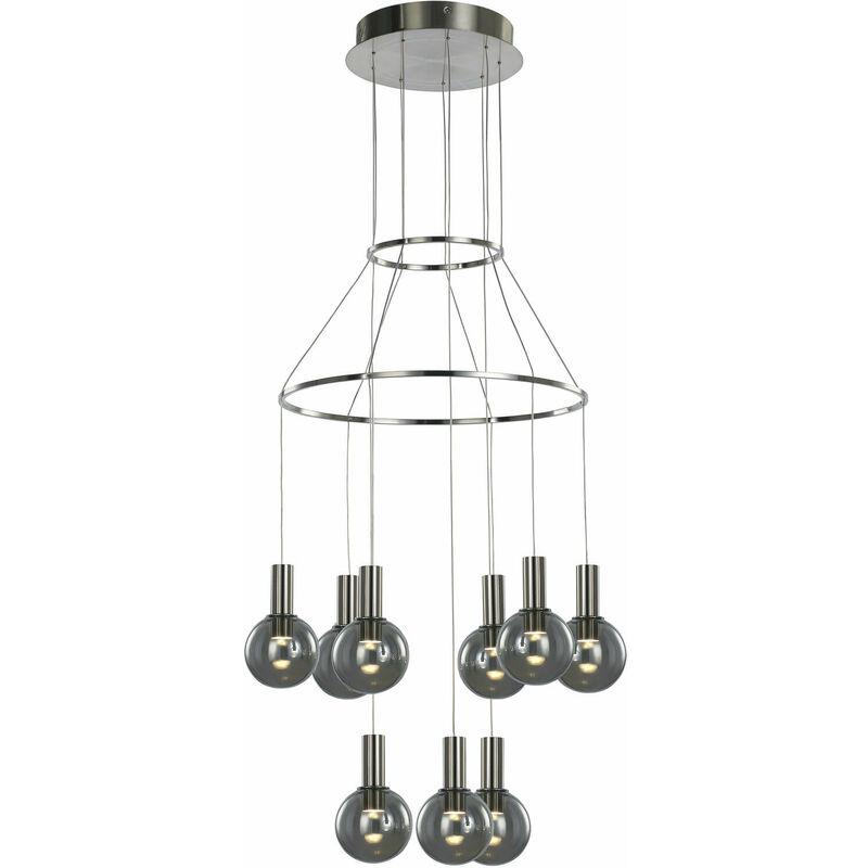 11-italux - Moderne Pendelleuchte Aria Satin
