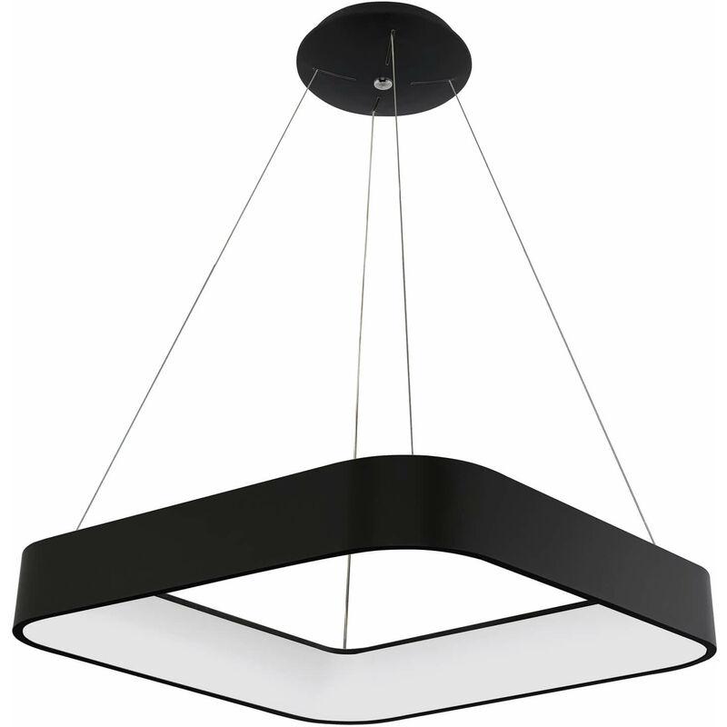 11-italux - Moderne Pendelleuchte Luigi Black