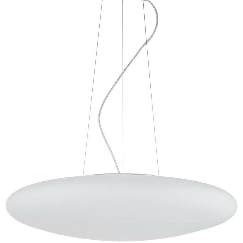 11-italux - Moderne Pendelleuchte Ufo X weiß