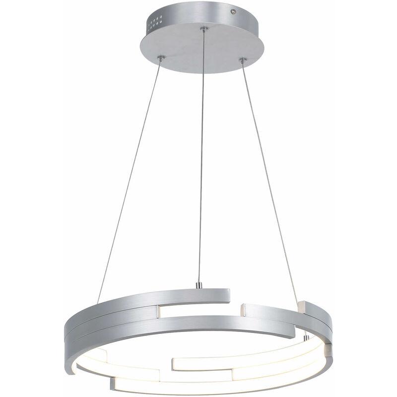 11-italux - Moderne Pendelleuchte Velar Oxidiertes Silber