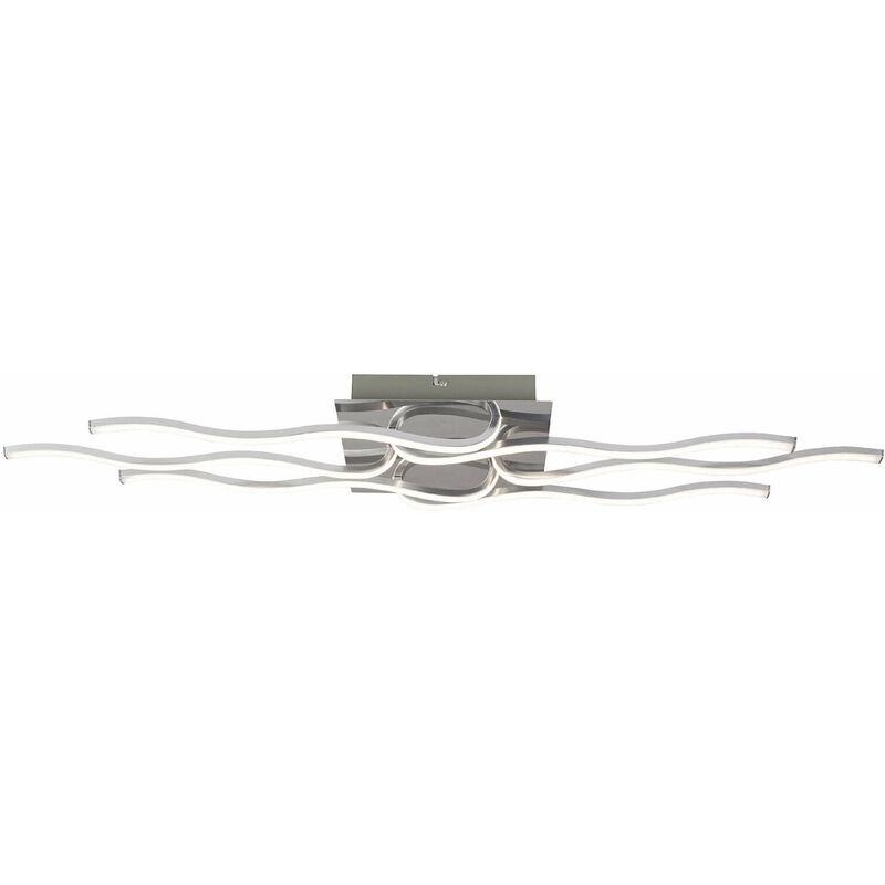 11-italux - Moderne Wandleuchte Bonita Chrome