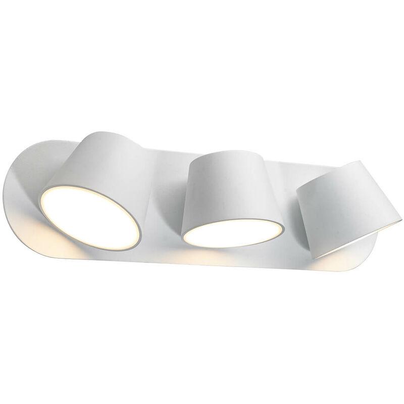 11-italux - Moderne Wandleuchte Kuola weiß
