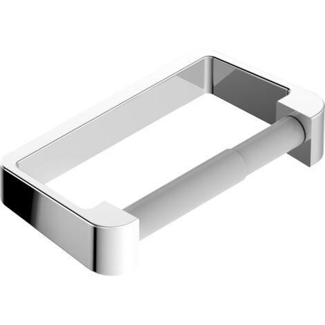 Moderner Toilettenpapierhalter SDETPH aus Messing – Serie ES - chrom