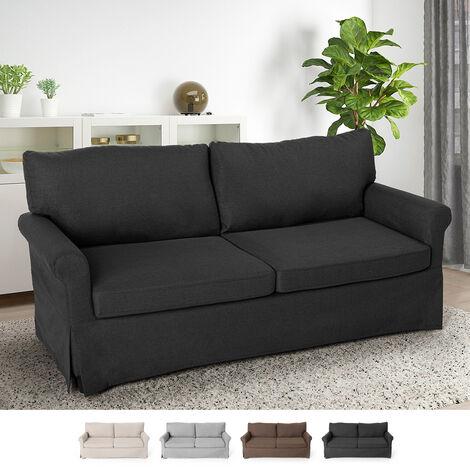 Modernes 3-Sitzer-Sofa im klassischen Design für Wohnzimmer und Lounges aus Stoff Belle Epoque