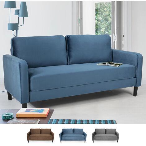 Modernes Design 3-Sitzer-Sofa für Wohnzimmer und Lounges aus Stoff Portland
