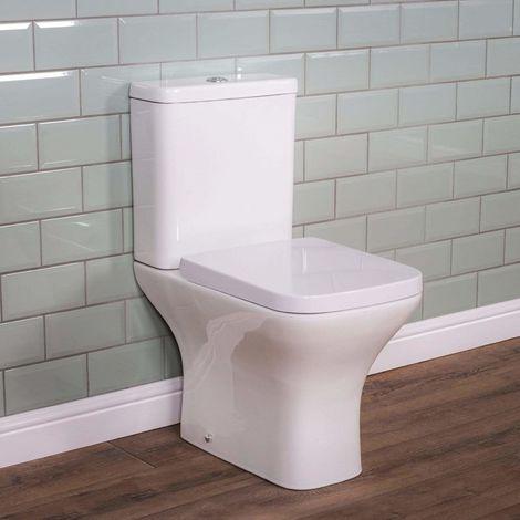 Modernes Stand-WC mit niedrigem Spülkasten ULTRA