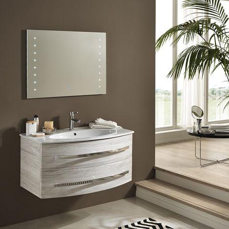 Moderno mobile bagno monica cassettone scorrevole 100cm for Cassettone bagno