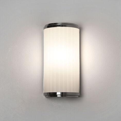 Modische LED Spiegelleuchte Monza in chrom, für das Badezimmer ...