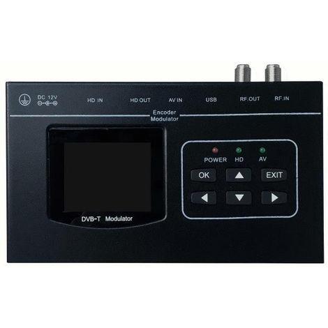 Modulador Tv TDT HD 1080 Hdmi Usb y RCA AVC/H.264 Tecatel Hdcp Mod-dimhd8