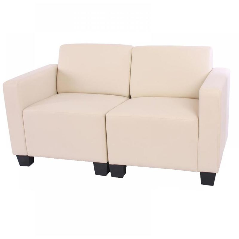 Modular Zweisitzer Sofa Moncalieri ~ creme