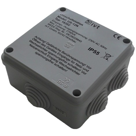 230 V//AC 230 V//AC230 V//AC 230 V//AC Station de commutation IVT US-12N 2760 VA