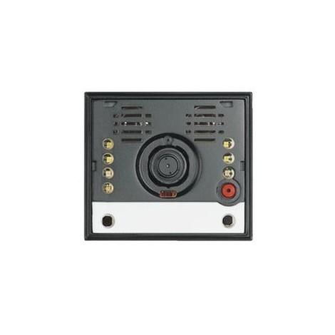 Module caméra couleur cablage BUS 2 fils + micro HP + 2 BP pour interphone SFERA BTICINO 342560
